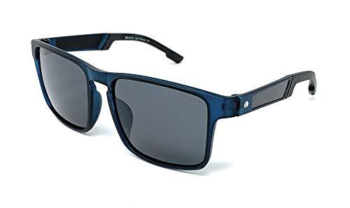 Gafas De Sol Venice para hombre, Lentes Polarizadas, material TR90, ULTRALIGERAS y RESISTENTES con Protección 100% UV400 (Dark Blue)