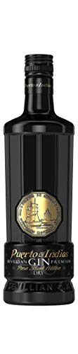 Ginebra Puerto de Indias Pure Black Edition, 70 Cl