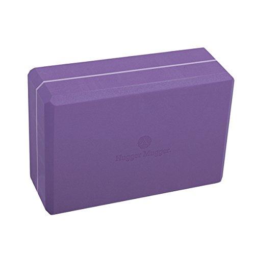 Hugger Mugger 3-Inch Foam Yoga Block (Purple)
