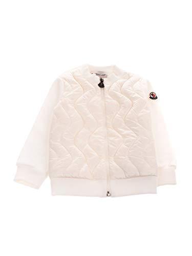 Moncler Luxury Fashion Baby 8G50310809D2034 Weiss Baumwolle Jacke | Herbst Winter 20