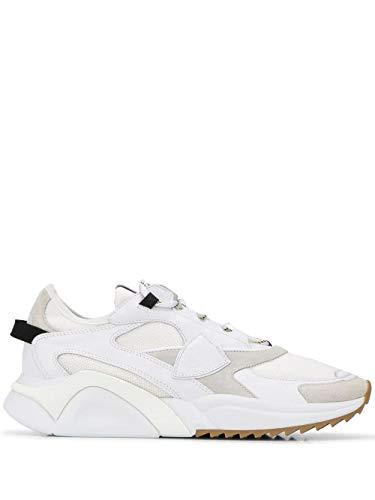 Philippe Model Luxury Fashion Uomo EZLUWK06 Bianco Sneakers  
