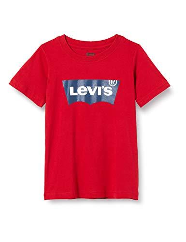 Levi's Kids Lvb Batwing Tee Camiseta Levis Red para Niños