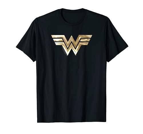 Wonder Woman 1984 Golden Logo Camiseta
