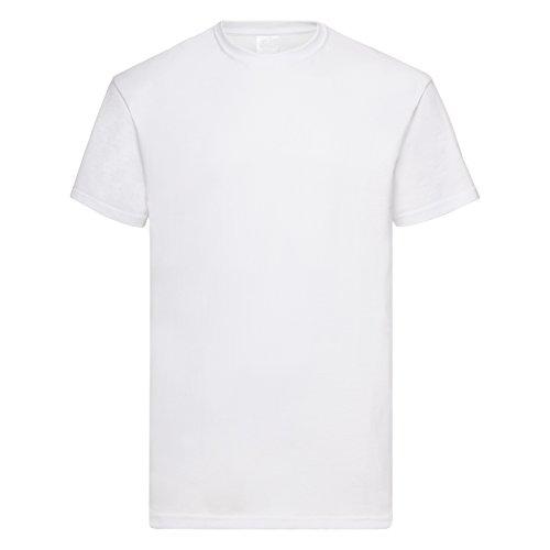 メンズ バリュー ショートスリーブ カジュアル 半袖 Tシャツ 男性服 (XL, スノー)