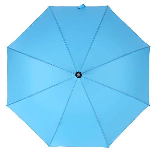 AZZ Draagbare, automatische, creatieve winddichte paraplu, golfscherm winddicht en UV-bescherming, zonnecrème reflecterende automatische opening