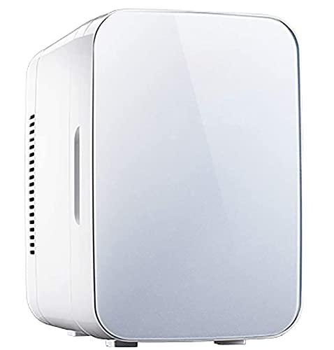 HRRF Mini Nevera, Mini refrigerador Compacto refrigerador eléctrico y refrigerador de Vino más cálido 8 litros portátil para el hogar/Oficina/Bar/excursiones