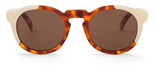 MR.BOHO, Cream/leo tortoise jordaan with classical lenses - Gafas De Sol unisex multicolor (carey/crema), talla única