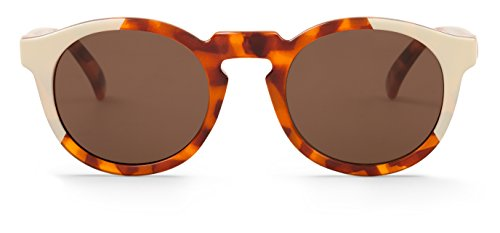 MR.BOHO, Cream/leo tortoise jordaan with classical lenses - Gafas De Sol unisex multicolor (carey/crema), talla única