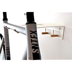 Fahrradhalter / Fahrradzubehör / Wandhalterung Fahrrad TEIKO white