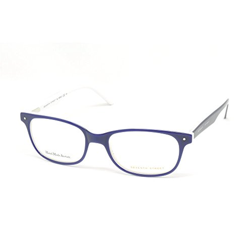 Seventh Street S 201/n Farbe 0QM/16 BLUE WHITE kaliber 47 Neu BRILLE