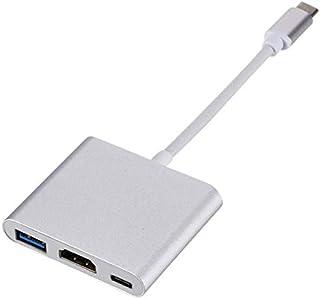 محول HDMI نوع C الى HDMI USB 3.0 محول شحن USB - C 3.1 لاجهزة ماك بوك