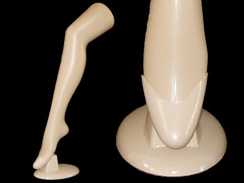 (PS-5016) ROXY DISPLAY Plastic Female Mannequin Long Leg Flesh Tone, Hosiery/Sox/Sock Display