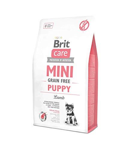 Brit 2kg Care Mini Puppy Lamb getreidefrei Hundefutter
