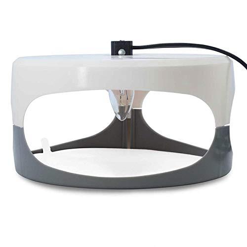 Exanko Dome Flea Bed Bug Trap, Odorless, and Natural Flea Killer Trap Mat, Family, Children-UK Plug