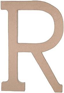 Darice Bulk Buy DIY Paper Mache Letter R 23.5 inches 3-Pack 2860-R