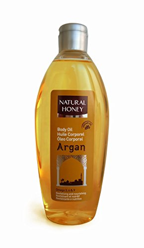 Natural Honey Argan Body Oil / Körperöl / Massageöl 300ml
