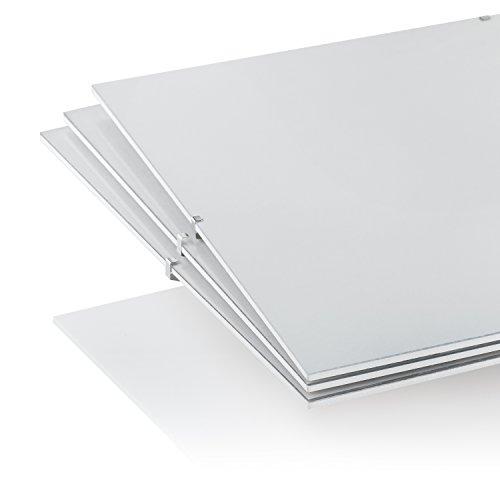 Marco de fotos para el hogar y la oficina., acrílico, Pack of 3, 61 x 91, 5 cm