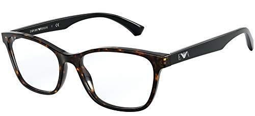 Emporio Armani Gafas de Vista EA 3157 Matte Havana 52/17/140 mujer