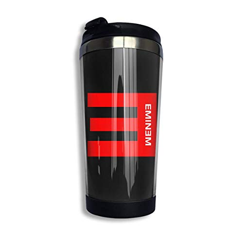 dfjdfjjgfhd Eminem Coffee Cup Stainless Steel Wasserflasche Cup Reisebecher Coffee Tumbler with Spill Proof Lid