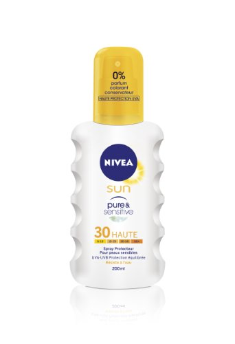 Nivea Sun - Spray Pure & Sensitive FPS30 - 200 ml