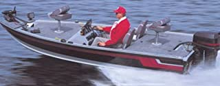 Carver 17 O/B Jon Style Bass Boat Cover Poly Guard Extra Wide 77817EP
