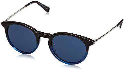 MONT BLANC  MB549S 56V-49-20-145 Mont Blanc Sunglasses Mb549S 56V-49-20-145 Rund  Sonnenbrille 49, Schwarz