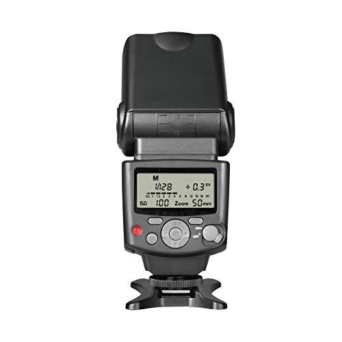 Voking VK430 I TTL Speedlite LCD Display Shoe Mount Flash for Nikon D3400 D3300 D3200 D5600 D850 D750 D7200 D5300 D5500 D500 D7100 D3100 and Other Nikon DSLR Cameras with Standard Stand
