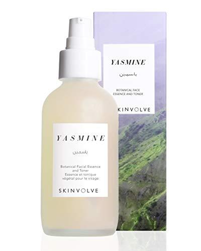 SKINVOLVE Yasmine Botanical Facial Essence and Toner for All Skin - Pore-Reducing - Alcohol-Free- 4oz