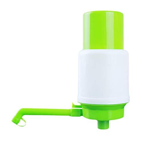 LoveAloe Dispensador portátil de botellas de agua a presión de mano, dispensador de agua con ventosa, herramientas de cocina, color verde