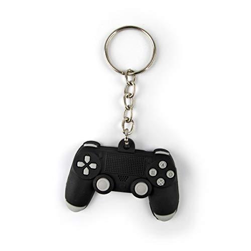 Chaveiro Gamer Emborrachado Controle PS - Presente Criativo Geek