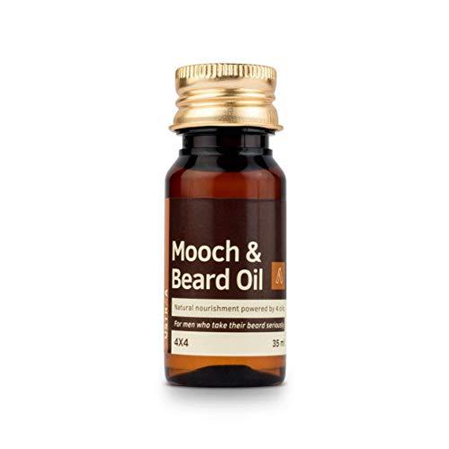 Ustra Mooch and Beard Oil 4x4 for Men - 35 ml