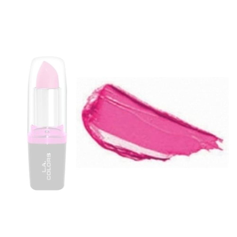 質素な見捨てられた穿孔する(6 Pack) LA Colors Hydrating Lipstick - Bold Pink (並行輸入品)