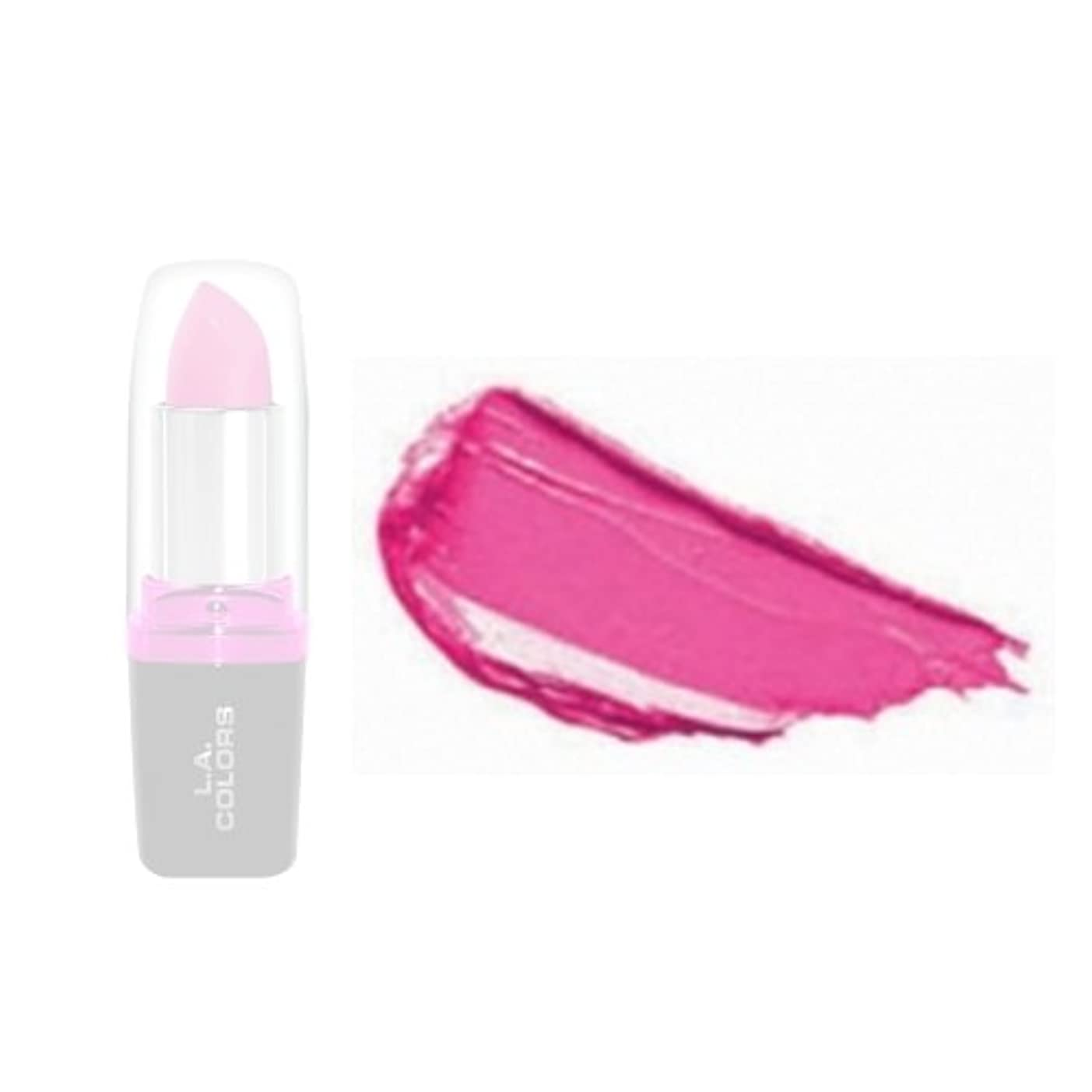 健康値するカメラLA Colors Hydrating Lipstick - Bold Pink (並行輸入品)