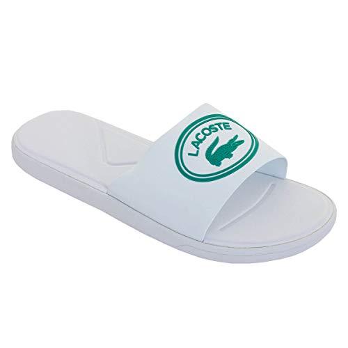 Lacoste Herren L.30 Slide 119 3 CMA Flip Flops - Weiß/Grün - UK 9