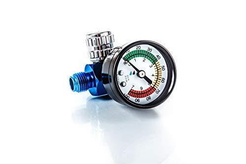 BenBow Druckregler mit Manometer für Lackierpistolen (600) Druckminderer für Lackierpistolen Lackierer