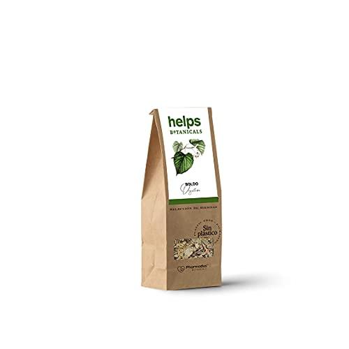 🌿 INGREDIENTES: Infusión de Boldo a granel de la mejor calidad a base de Peumus boldus Molina (hoja), de procedencia ecológica. Nuestras infusiones, por la naturaleza de sus componentes, NO contienen gluten, NO contienen materias primas genéticamente...