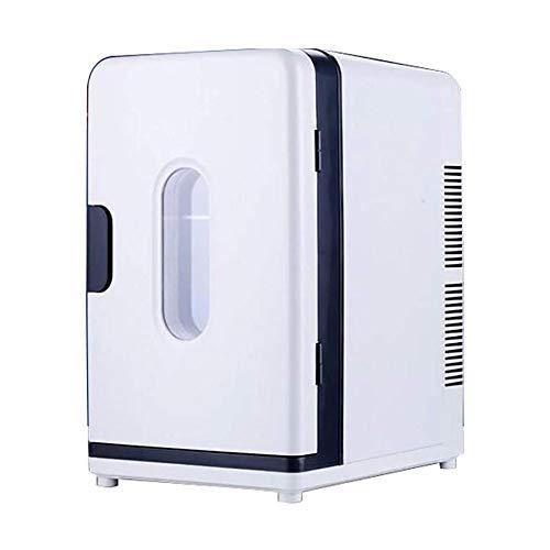 QJY Mini Nevera 18Liter refrigerador Portable más Caliente, Refrigerador Compacto Inicio eléctrico más Fresco Frigorífico for residencias de Estudiantes (Color : Black)