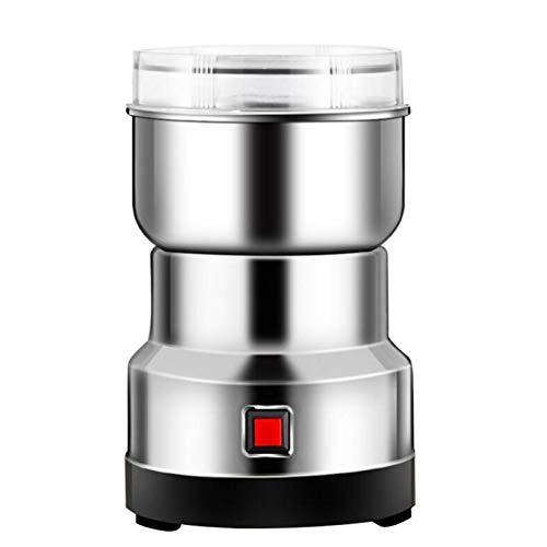 MANGGUO Elektrische Getreidemühle 150W , Edelstahlpulvermaschine Kleine Getreide Elektrische Getreidemühle , Multifunktionspulverisierer für Kaffeebohnen-Gewürzsamen