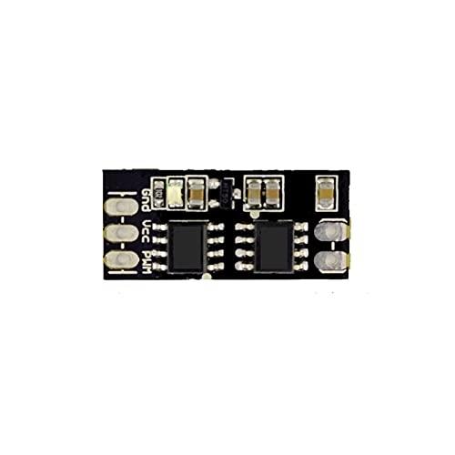 XUSUYUNCHUANG 5pcs Doble Sentido DC Circuit Board Cepillo ESC del módulo de transmisión de Motor electrónicos PCB Controlador de Velocidad 1S-3S Control PPM for Barco RC/Coche Accesorios de Barcos