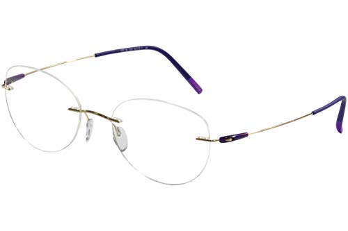 Silhouette Women's Dynamics Colorwave Chassis 5500 7530 Optical Frame 19x140mm