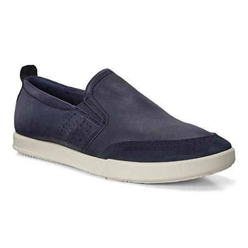 ECCO Men's Collin 2.0 Slip On Sneaker, Navy/Night Sky, 45 M EU (11-11.5 US)