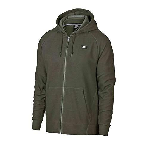 Nike Herren M Nsw Optic Hoodie Fz Full-Zip Optic Kapuzenjacke, grün (sequoia/heather), L