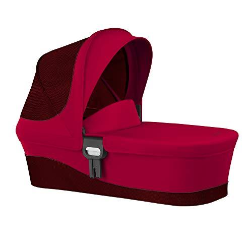 CYBEX Gold Kinderwagenaufsatz Cot M, Ab Geburt bis 6 Monate (9kg), Rebel Red