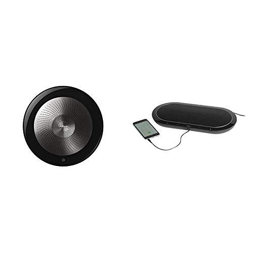 Great Price! Jabra Speak 810 MS Portable Speaker for Music and Calls Bundle with Jabra Speak 710 Wir...