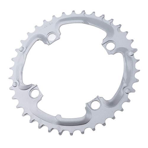 Colcolo Biking Chainring 104 BCD con 4 Tornillos para Bicicleta de Carretera, Bicicleta de Montaña, Bicicleta MTB
