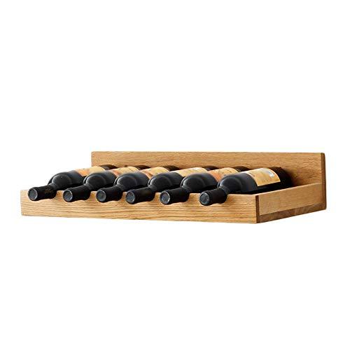 YJSJ QUN Mueble para Vinos De Pared/Botellero De Madera/Vinoteca Mural ++ (Color : A, Size : Wine Rack)