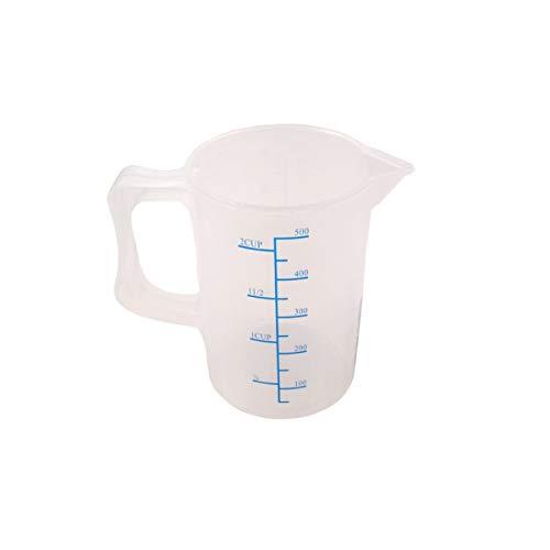 HUIJUNWENTI Vasos de Medida Vasos de balanza Vasos de plástico Herramientas de...