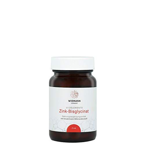 WIDELEMENTS - Hochdosiertes Zink Bisglycinat (90 Tabletten) - Hohe Bioverfügbarkeit - hochdosiert mit 30 mg - 100{a42ce8dff56e4ad1852758d87617833b996673fb7747fbdeed8af46399b76968} vegan - Made in Germany - laktosefrei & glutenfrei