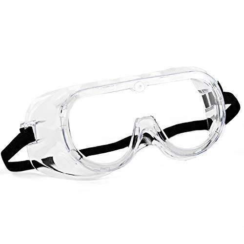 Gafas de protección Meloive, antivaho y antiarañazos, protección ocular, antipillón y protección UV, unisex