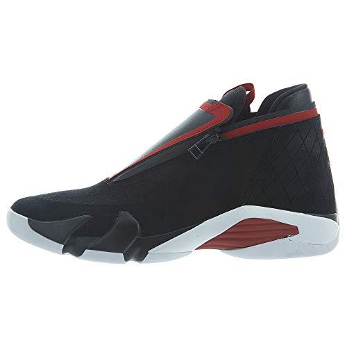 Jordan Nike Jumpman Z Zapatillas de baloncesto para hombre, Negro (negro/rojo/blanco (black/gym red/white)), 44 EU
